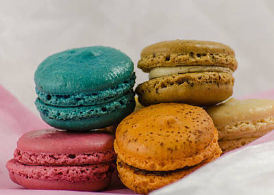 Photograph - French Macarons by Stephanie Maatta Smith