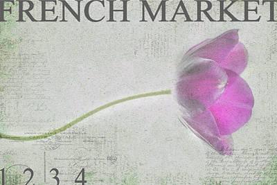 French Market Series D Art Print by Rebecca Cozart
