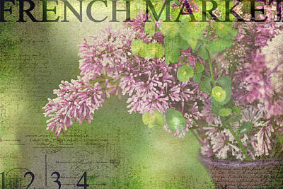French Market Series M Print by Rebecca Cozart