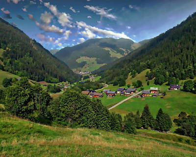 Photograph - French Mountain Village by Anthony Dezenzio