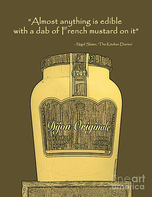 Photograph - French Mustard Or Mustard King by Nina Silver