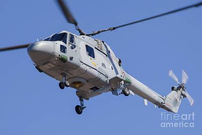 Staff Picks Judy Bernier - French Navy Westland Sea Lynx by Timm Ziegenthaler