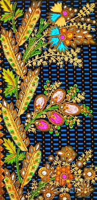 Digital Art - French Neoclassical Romantic Period Faux Jewels And Gold  by Peter Ogden