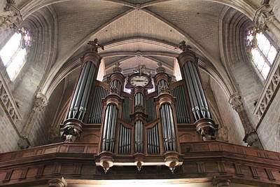 French Organ Art Print