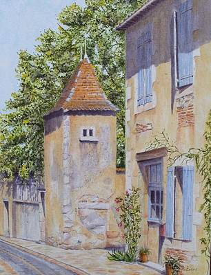 French Pigeonnier Art Print by Frances Evans