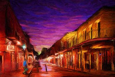 Digital Art - French Quarter 1 by Caito Junqueira