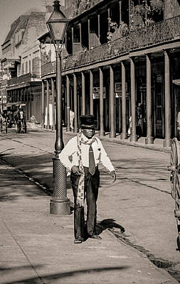 Photograph - French Quarter As It Once Was by KG Thienemann