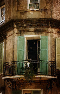 Photograph - French Quarter Balcony by Chrystal Mimbs