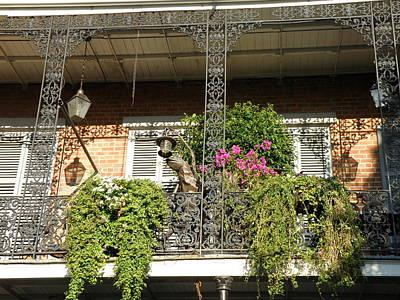 French Quarter Balcony Art Print by Jack Herrington