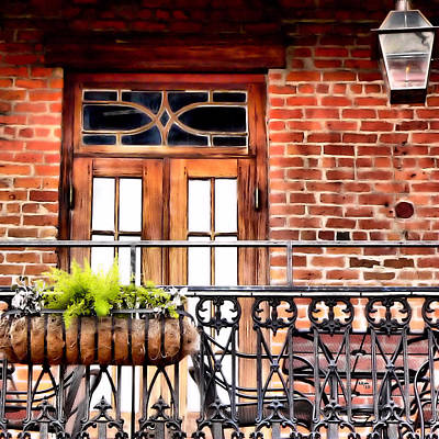 Photograph - French Quarter Balcony by Kathy K McClellan