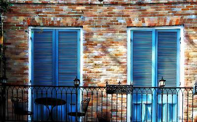 Mardi Gras Painting - French Quarter Balcony Morning by Barbara Chichester