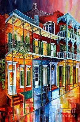 French Quarter Painting - French Quarter Charm by Diane Millsap