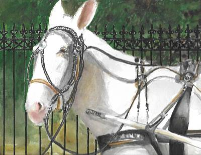 Painting - French Quarter Cutie  by Bobby Walters