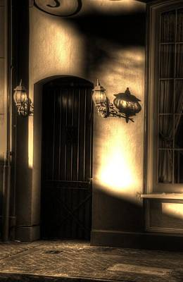 French Quarter Door Art Print by Greg and Chrystal Mimbs