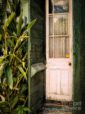 Photograph - French Quarter Doorway - Nola by Kathleen K Parker
