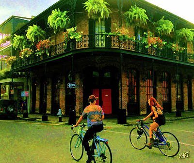 Photograph - French Quarter Flirting On The Go by CHAZ Daugherty