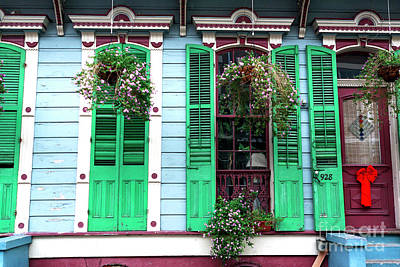 Photograph - French Quarter Front Porch by John Rizzuto