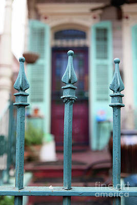 Photograph - French Quarter Gate by Heather Green