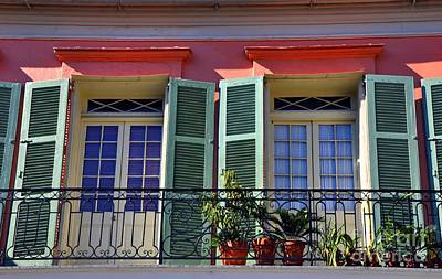 Photograph - French Quarter Home by Andrew Dinh