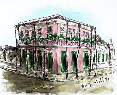 Painting - French Quarter by Monique Faella