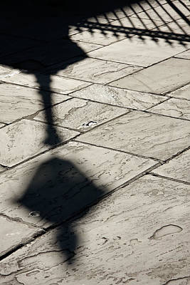 Art Print featuring the photograph French Quarter Shadow by KG Thienemann