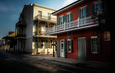 Photograph - French Quarter Shadows by Greg Mimbs