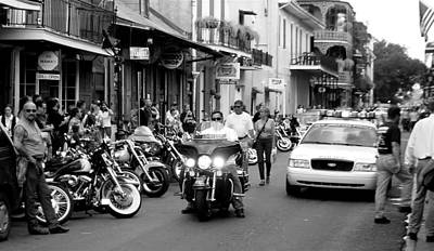 Photograph - French Quarter Street Scene by Kate Purdy
