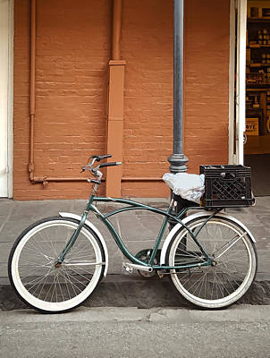 Photograph - French Quarter Transportation - New Orleans by Greg Jackson