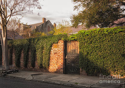 Photograph - French Quarter Wall And Home- Nola by Kathleen K Parker