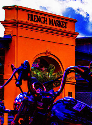 Photograph - French Quarter Welcome by Jeff Kurtz