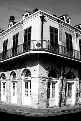 Www.eye4life.com Photograph - French Quarter With A Wide Focus by Alicia Morales