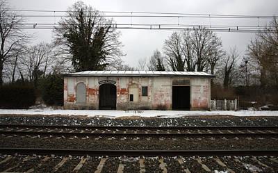 Nazi Mixed Media - French Rail Building by Marcus Kett