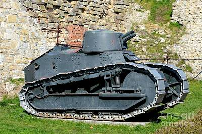 Man Cave - French Renault FT 17 revolutionary light tank Belgrade Military Museum Serbia by Imran Ahmed