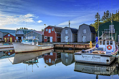 Photograph - French River Prince Edward Island by Edward Fielding