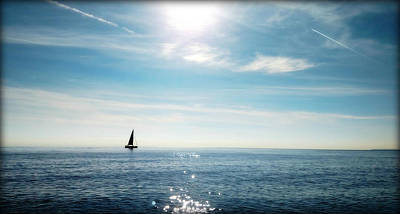 Photograph - French Riviera Waters by Katie Wing Vigil