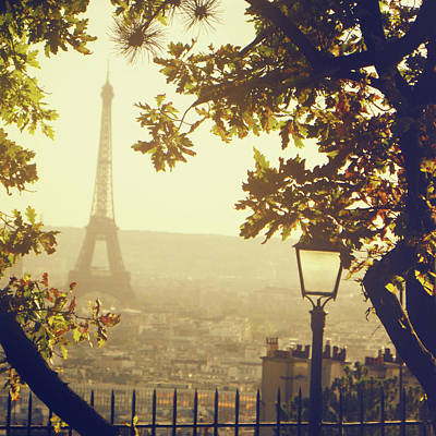 Paris Skyline Photograph - French Romance by by Smaranda Madalina Cheregi