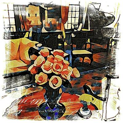 Photograph - French Roses by Alice Gipson