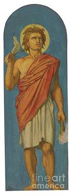 Flandrin Painting - French Samson by MotionAge Designs