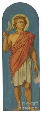 French Samson Art Print