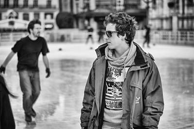Photograph - French Skaters. by Pablo Lopez