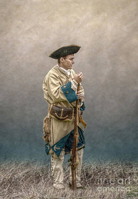 Musket Mixed Media - French Soldier French And Indian War by Randy Steele