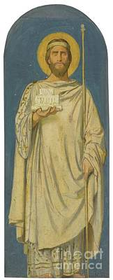 French Solomon Art Print