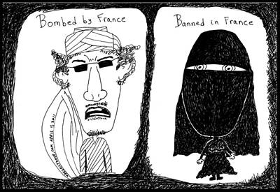 Thedailydose.com Drawing - French Solutions To Arab Problems by Yasha Harari