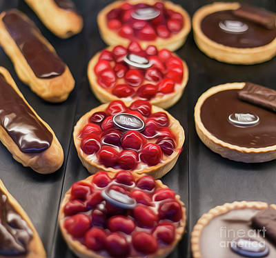 Photograph - French Sweets by Alexandra Art
