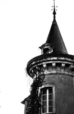 Chateau Photograph - French Turret by Georgia Fowler