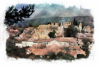 Photograph - French Village by Hugh Smith