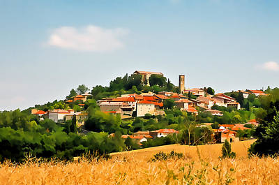 Photograph - French Village  I by Gareth Davies