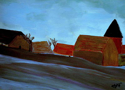 Painting - French Winter by Bill OConnor