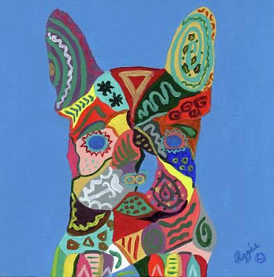 Painting - Frenchie Poo by Stephanie Agliano
