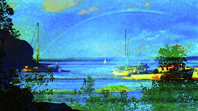Painting - Frenchman Bay by Mike Breau